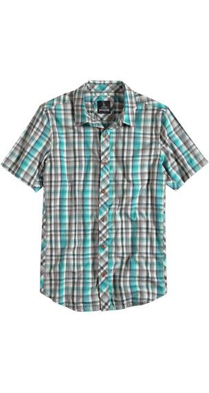 Prana M's Elliot Slim Fit Shirt Deep Teal